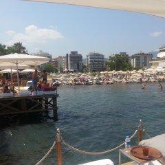 Moda Beach Hotel Турция, Мармарис - отзывы, цены и фото номеров - забронировать отель Moda Beach Hotel онлайн пляж