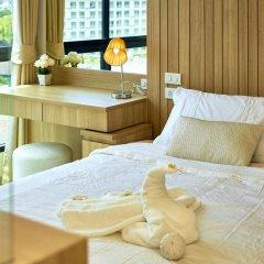 Отель The Chezz Central Condo By Mypattayastay Паттайя в номере