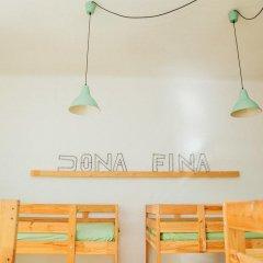 Отель Dona Fina Guest House Кровать в общем номере двухъярусные кровати