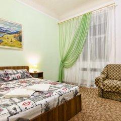 Гостиница Prospekt Shevchenka комната для гостей фото 5