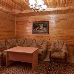 Отель Шато Леопард Домбай комната для гостей фото 4