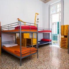 Ostellin Genova Hostel Кровать в общем номере фото 7