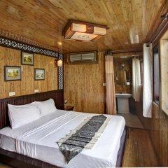 Отель Bai Tu Long Junks 3* Номер Делюкс с различными типами кроватей фото 45