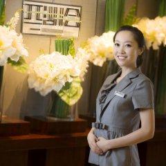 Отель Hangzhou Hua Chen International 4* Представительский номер с различными типами кроватей фото 7