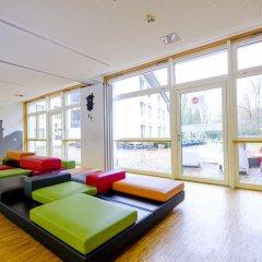 Hi Munich Park Youth Hostel Мюнхен интерьер отеля фото 2