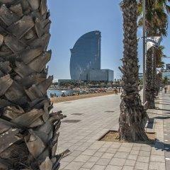 Отель Habitat Apartments Banys Испания, Барселона - отзывы, цены и фото номеров - забронировать отель Habitat Apartments Banys онлайн пляж