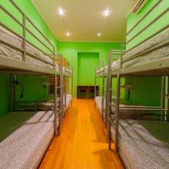 Отель Жилое помещение Bear на Смоленской Кровать в общем номере фото 2