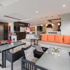 Апартаменты G1 Serviced Apartment Kamala Beach Стандартный номер с различными типами кроватей фото 9