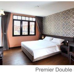 Отель Rambuttri Village Inn & Plaza 3* Улучшенный номер с различными типами кроватей фото 16