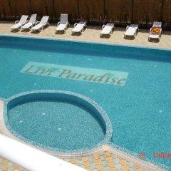 Отель Livi Paradise Apartments Болгария, Солнечный берег - отзывы, цены и фото номеров - забронировать отель Livi Paradise Apartments онлайн бассейн