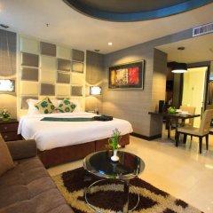 Отель FuramaXclusive Asoke, Bangkok 4* Номер категории Премиум с различными типами кроватей фото 11