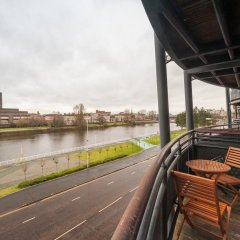 Отель Glasgow City Flats балкон