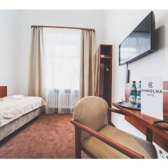 Отель CHMIELNA Варшава комната для гостей фото 4