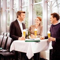 Отель Gösser Schlössl Австрия, Вена - отзывы, цены и фото номеров - забронировать отель Gösser Schlössl онлайн питание