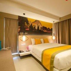 Отель Bizotel Bangkok 3* Улучшенный номер фото 2