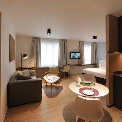 Отель Residence La Source Quartier Louise 3* Студия с различными типами кроватей фото 22