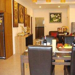 Отель Villa 140 пляж Банг-Тао питание