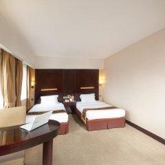 Hotel Beverly Plaza 3* Улучшенный номер с разными типами кроватей фото 2
