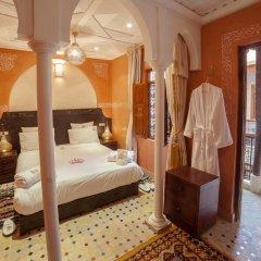 Отель Dar Ikalimo Marrakech 3* Улучшенный номер с различными типами кроватей фото 15