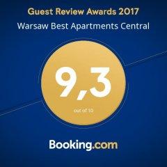Отель Warsaw Best Apartments Central Польша, Варшава - отзывы, цены и фото номеров - забронировать отель Warsaw Best Apartments Central онлайн приотельная территория