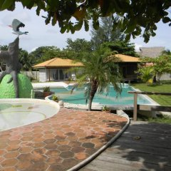 Hotel La Casa de Nery Луизиана Ceiba бассейн