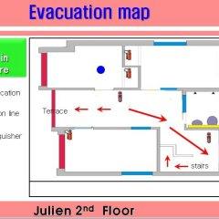 Отель Guest House Julien Стандартный номер с различными типами кроватей фото 50