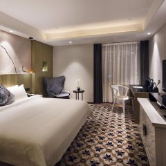 Paco Hotel Guangzhou Gangding Metro Branch 4* Стандартный номер с различными типами кроватей фото 2