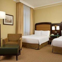Гостиница Hilton Москва Ленинградская 5* Представительский номер с различными типами кроватей фото 9