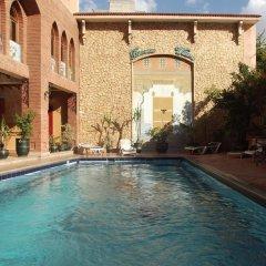 Отель Al Kabir Марокко, Марракеш - отзывы, цены и фото номеров - забронировать отель Al Kabir онлайн бассейн фото 3
