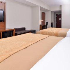 Отель Comfort Inn & Suites Frisco - Plano комната для гостей фото 5