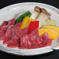 Отель Tobise Onsen Tenga Sanso Минамиогуни питание фото 3