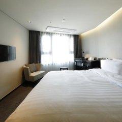 Отель Ramada Encore Seoul Magok 3* Стандартный номер с различными типами кроватей фото 6