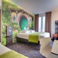 Отель Hôtel Kyriad Rennes сейф в номере