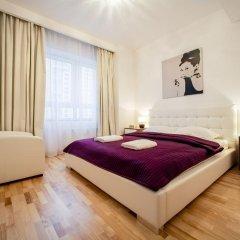 Отель Platinum Towers Central Apartments Польша, Варшава - отзывы, цены и фото номеров - забронировать отель Platinum Towers Central Apartments онлайн комната для гостей фото 5