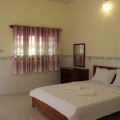 Отель Hoa Nhat Lan Bungalow 2* Стандартный номер с двуспальной кроватью