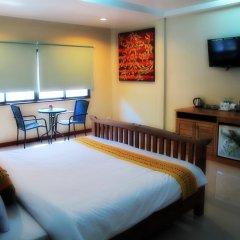 Отель Kata Garden Resort 3* Улучшенный номер с двуспальной кроватью фото 3
