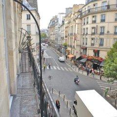 Апартаменты Studio Mezzanine Saint Germain des Près балкон