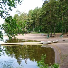 Отель Hostel Ukonlinna Финляндия, Иматра - отзывы, цены и фото номеров - забронировать отель Hostel Ukonlinna онлайн приотельная территория
