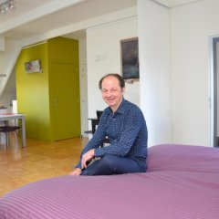 Отель B2B-Flats Ternat Улучшенные апартаменты с различными типами кроватей фото 41