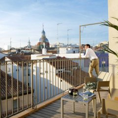 Апартаменты Eric Vökel Boutique Apartments - Madrid Suites балкон
