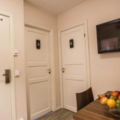 Апартаменты Central City Shared Apartments Стандартный номер с различными типами кроватей фото 8