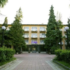 Гостиница Хоста парковка