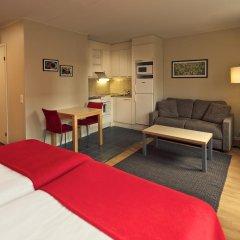 Отель Hellsten Espoo 3* Студия с различными типами кроватей фото 3