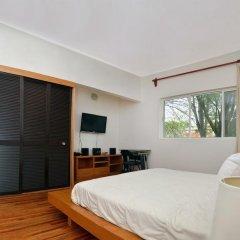 Отель Suites del Carmen - Guerrero Мексика, Мехико - отзывы, цены и фото номеров - забронировать отель Suites del Carmen - Guerrero онлайн комната для гостей фото 5
