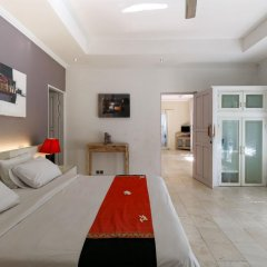 Отель Aleesha Villas 3* Представительский люкс с различными типами кроватей фото 9