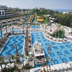 Crystal Sunset Luxury Resort & Spa Турция, Сиде - 1 отзыв об отеле, цены и фото номеров - забронировать отель Crystal Sunset Luxury Resort & Spa - All Inclusive онлайн бассейн фото 2