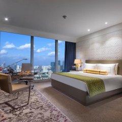 Отель InterContinental Shanghai Jing' An 5* Номер Делюкс с различными типами кроватей фото 2