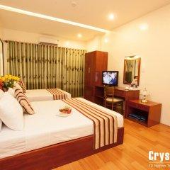 Saigon Crystal Hotel 2* Номер Делюкс с различными типами кроватей фото 2