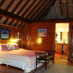 Отель Bora Bora Bungalove Французская Полинезия, Бора-Бора - отзывы, цены и фото номеров - забронировать отель Bora Bora Bungalove онлайн комната для гостей фото 3