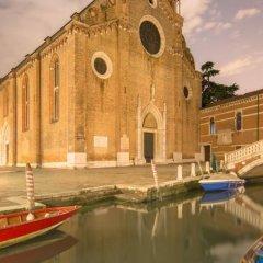 Отель Ca' Nova Венеция приотельная территория